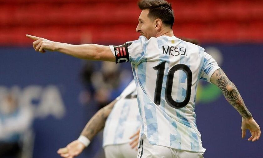 Αργεντινή: Με Μέσι και τρεις από την Premier League στα προκριματικά του Μουντιάλ 2022