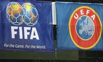 Παραμένει η διαφορά FIFA - UEFA για το Μουντιάλ
