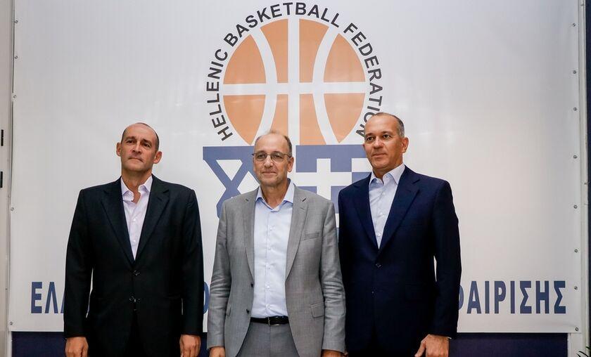 ΕΟΚ: Συνάντηση Αγγελόπουλων με Λιόλιο - «Μία νέα αρχή για το ελληνικό μπάσκετ» (vid)