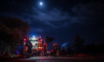 Μαραθώνας: Φωτιά σε χαμηλή βλάστηση - Κινητοποίηση της πυροσβεστικής - Τέθηκε υπό έλεγχο (pic)