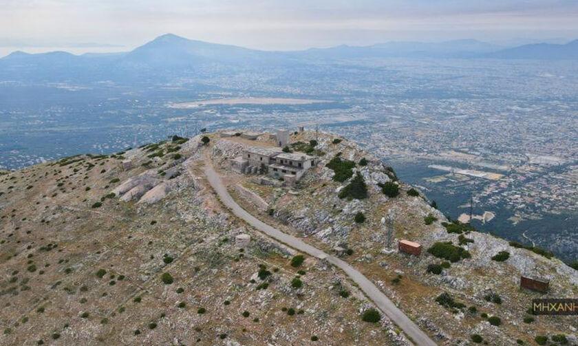 Πού βρίσκεται η στρατιωτική βάση - φάντασμα της Πάρνηθας που εποπτεύει όλη την Αθήνα