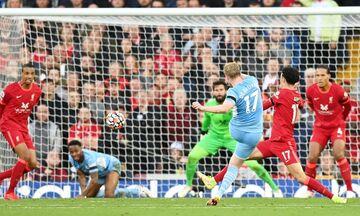 Premier League: Ισοπαλία για Λίβερπουλ και Σίτι στη ματσάρα του «Άνφιλντ» (2-2) (highlights)