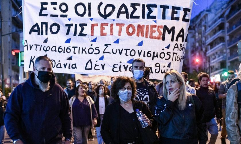 Αντιφασιστικές συγκεντρώσεις σε όλη την Ελλάδα - Φύσσα: «Με τον φασισμό δεν έχουμε τελειώσει» (vids)