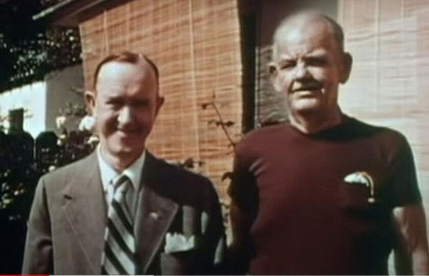 Η τελευταία συνάντηση «Χοντρού και Λιγνού» - Το σπάνιο βίντεο με τον «Χοντρό» να έχει χάσει 60 κιλά
