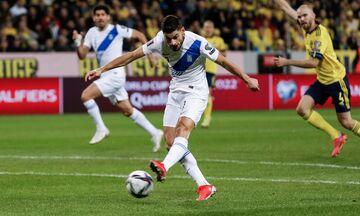 Σουηδία - Ελλάδα 2-0: Τα γκολ και οι καλύτερες φάσεις (vids)