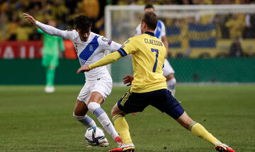 Τα highlights του Σουηδία - Ελλάδα 2-0 (vid)