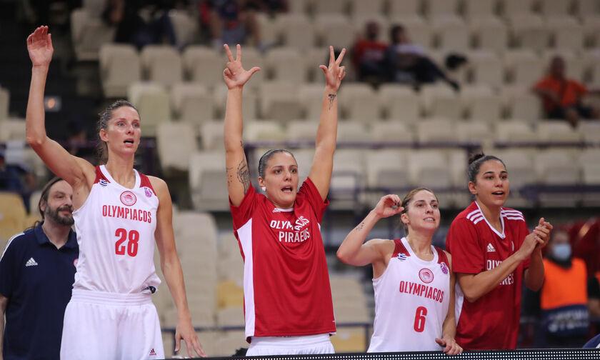 Ολυμπιακός - Μπίντγκοζ 103-68: Σκορ και θέαμα τα κορίτσια του Θρύλου!