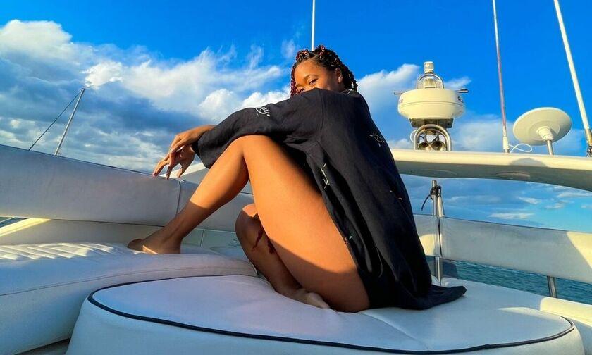 Η Ελληνική ανάρτηση της Ναόμι Οσάκα από τις διακοπές της στα νησιά μας!