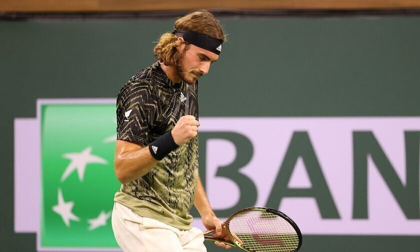 Indian Wells Masters: Στους «8» πάλι με ανατροπή ο Τσιτσιπάς! (vids)