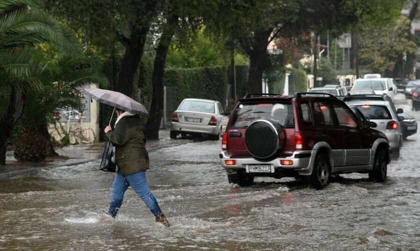 «Μπάλλος»: Τεράστιες ποσότητες νερού μέσα σε λίγες ώρες στην Αττική