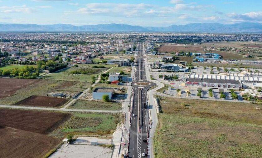 Περιφέρεια Θεσσαλίας: Στην κυκλοφορία το νότιο τμήμα της περιφερειακής οδού Τρικάλων (pic, vid)