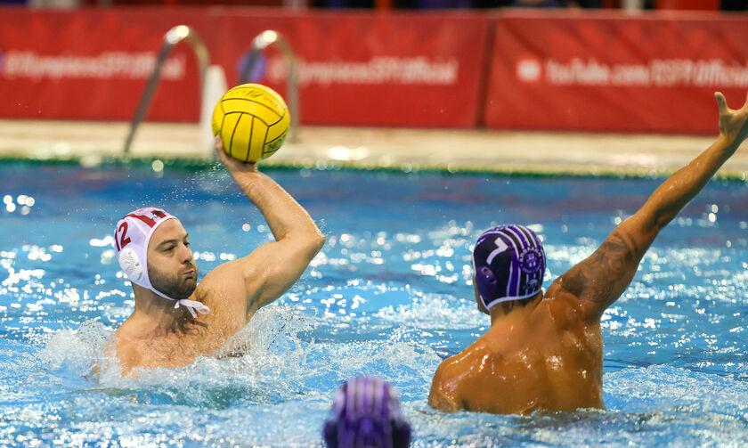 Ολυμπιακός - Απόλλων Σμύρνης 16-7: Με ηγέτη και σκόρερ τον Φιλίποβιτς