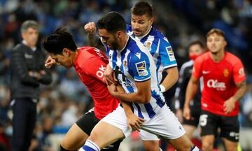 La Liga: Επική νίκη και μοναξιά στην κορυφή για τη Ρεάλ Σοσιεδάδ (των 10 παικτών) με Μαγιόρκα (1-0)!