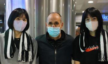 ΠΑΟΚ: Έφτασαν στη Θεσσαλονίκη οι αδελφές Λι