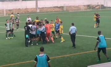 Πορτογαλία: Πυροβολισμοί και ξύλο σε αγώνα ποδοσφαίρου (vids)