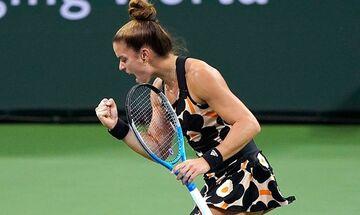 Σάκκαρη για την πρόκριση στο WTA Finals: Πέτυχα έναν από τους μεγαλύτερους στόχους της σεζόν!