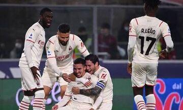 Serie A: Κορυφή για την Μίλαν που κέρδισε, στο τέλος, 4-2, στην Μπολόνια των εννέα παικτών (hls)!